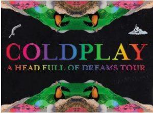 Coldplay 25-26 Juni 2017