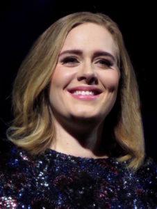 Adele fick oväntat besök på scenen – av myggor