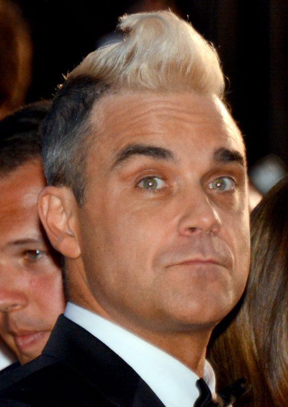 Robbie Williams på Globen