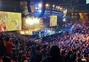 Gå på konsert i USA