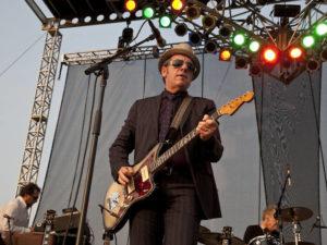 Elvis Costello i amfiteatern i Pula